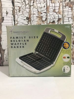 Toastmaster Family Size Belgian Waffle Baker for Sale in Denver, CO