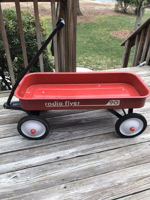 Photo Vintage Radio Flyer wagon