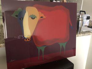 Painting- Grandpa's cow for Sale in Arlington, VA
