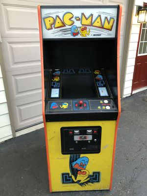 Photo Dedicated pac-man arcade game pacman