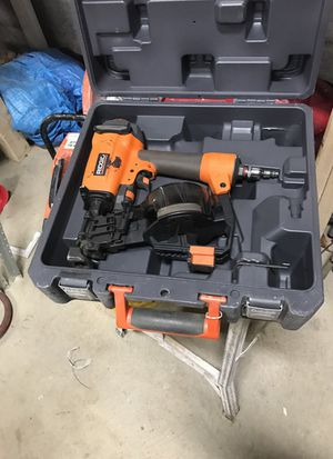 Rigid Roofing Coil Nailer for Sale in Silver Spring, MD