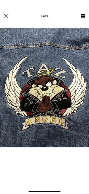 Photo Looney Tunes Tasmanian Angel Trucker Jacket