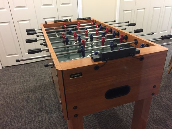 Groovy Harvard Foosball Table Table Soccer For Sale In Frederick Md Offerup Download Free Architecture Designs Remcamadebymaigaardcom
