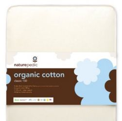 Naturepedic Organic Cotton baby and toddler crib mattress. Used but in good condition. for Sale in Tampa, FL