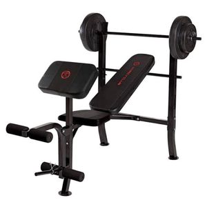 Marcy weight bench w/weights for Sale in SeaTac, WA