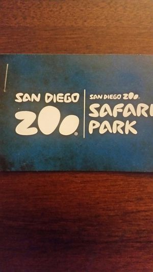 SAN DIEGO ZOO/SAFARI PARK TICKETS for Sale in San Diego, CA