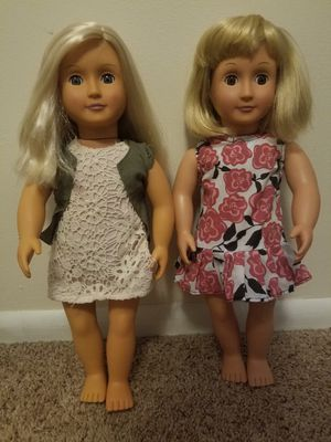 """2 Our Generation 18"""" Dolls for Sale in Auburn, WA"""