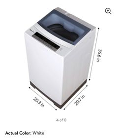 Magic chef 1.6 cu ft topload compact washer and Dryer 2.6 cu ft Thumbnail