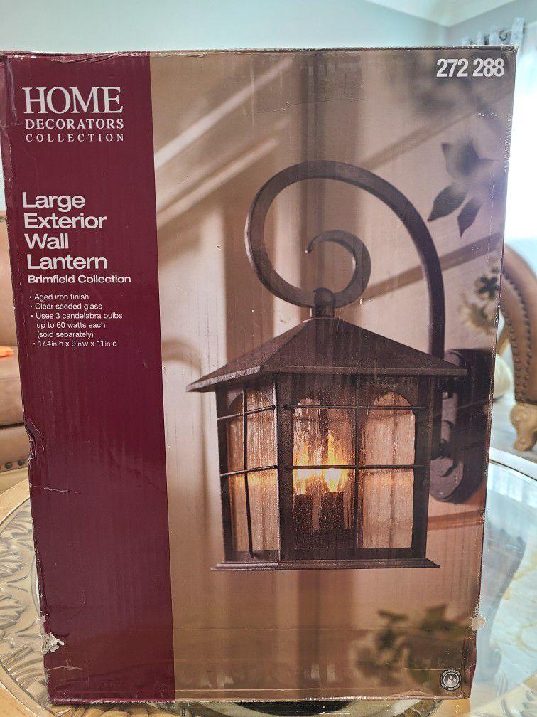 Large Exterior Wall  Lantern