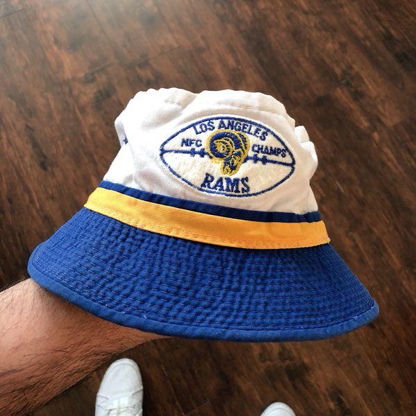 5c933c71ae00d ... wholesale vintage 1979 la los angeles rams nfc champs bucket hat 28263  23cdd