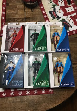 DC comic action figures for Sale in Manteca, CA