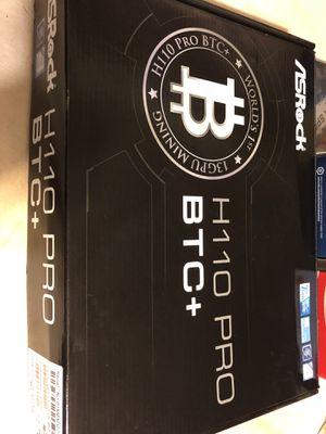 NEW SEALED COMPONENTS Asrock Pro + 1200w Power + Celeron +Ballistix for Sale in Bel Air, MD