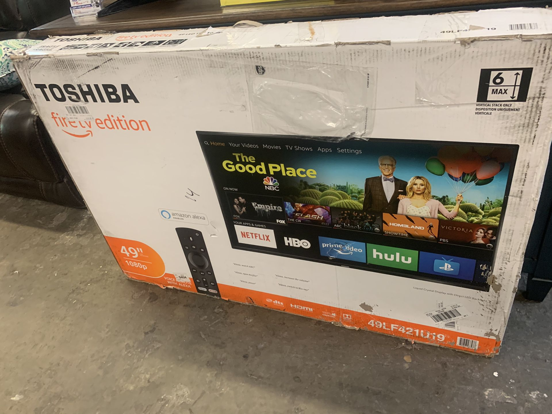 "Toshiba 49 "" tv"
