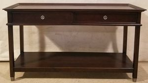 Lane 2 Drawer Sofa Console Media Table for Sale in Warrenton, VA