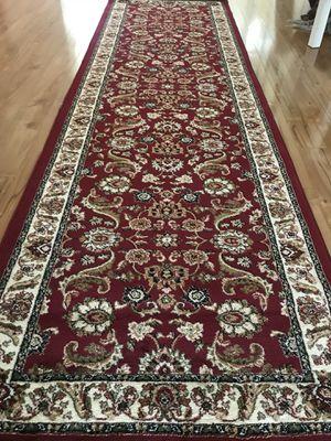 Brand new carpet runner size 3x10 nice red rug runners for Sale in Burke, VA