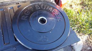Single 25lb Bumper Plate for Sale in San Diego, CA