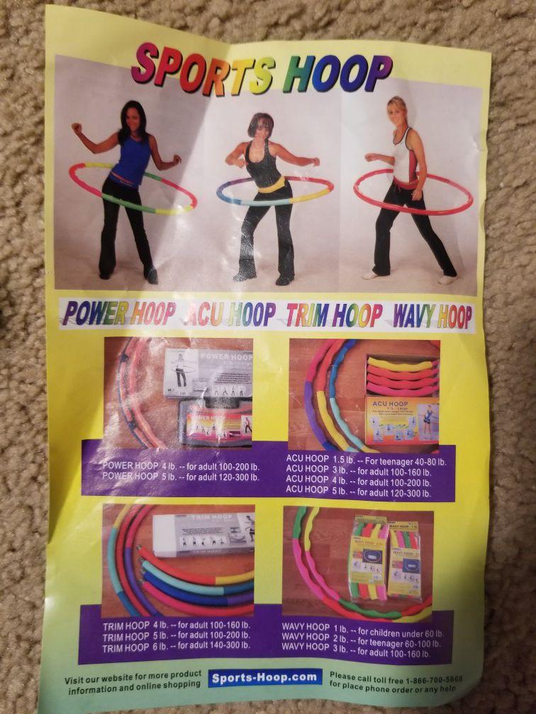 Power excercise hoop