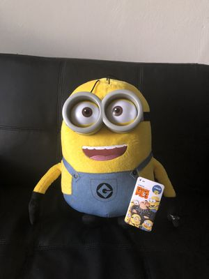 Brand new despicable 3 jumbo talking minion Dave toy for Sale in Lynchburg, VA