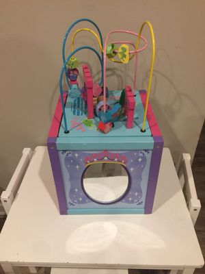 Princess toy box for Sale in Herndon, VA