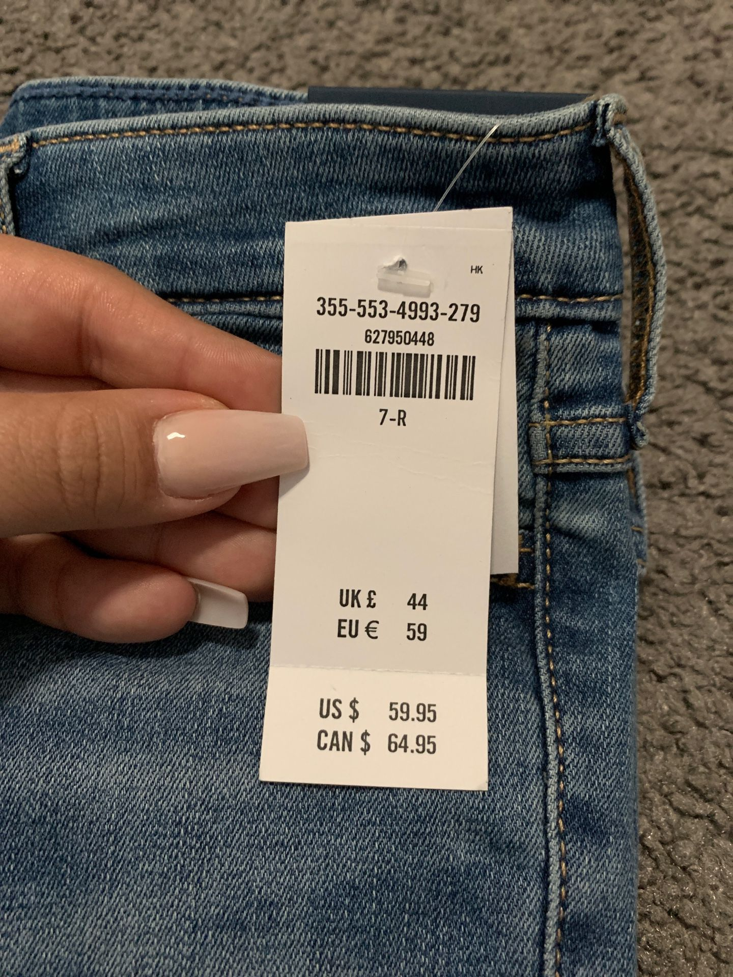 Hollister High Rise Jeans size 7s