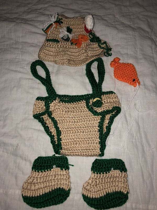 Newborn Fisherman Outfit For Sale In Labelle Fl Offerup