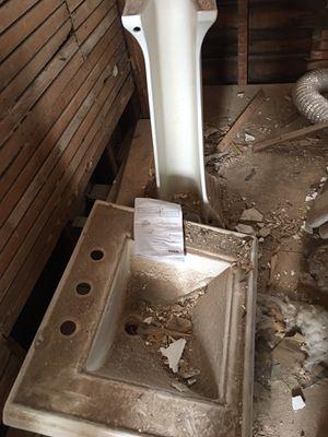 Photo Pedestal sink Kohler