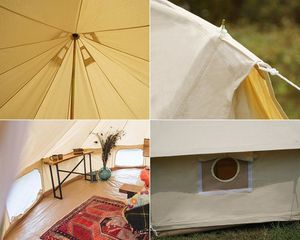 Dream House Luxury Outdoor Waterproof Four Season Family Camping and Winter Glamping Cotton Canvas  for Sale in Las Vegas, NV