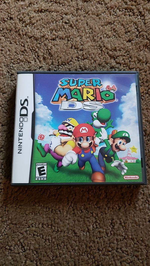 Nintendo Super Mario 64 DS Game for Sale in Arlington, WA - OfferUp