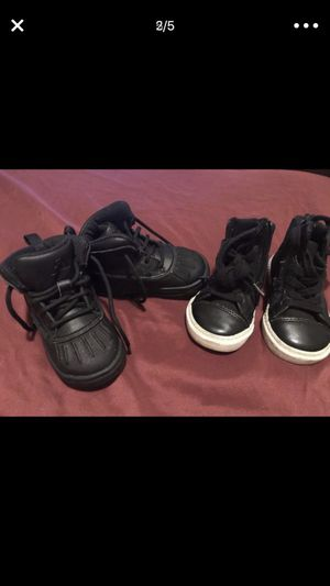 Nike boot and baby gap Boots size 6 toddler in great condition for Sale in Washington, DC