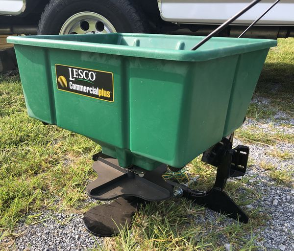 Lesco Commercial Plus Electric Spreader For Sale In Smithsburg Md Offerup