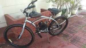 Photo Motorized gas bike