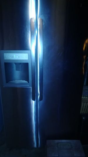 LG Refrigerator stainless steel side by side for Sale in Crewe, VA