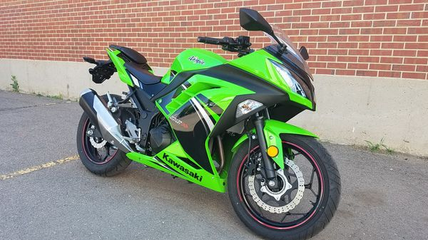 2014 Kawasaki Ninja 300 Street Bike Motorcycle Fast For Sale In