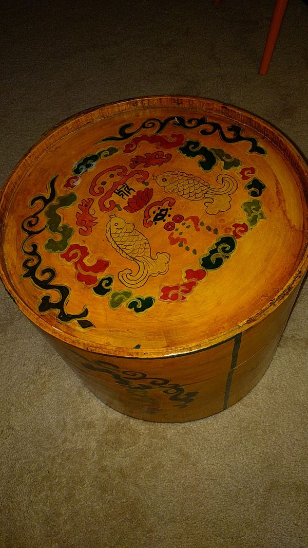 Vintage Hat Box Made In Bali Indonesia For Sale In Seattle Wa Offerup