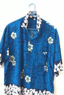 Blue Hawaiian shirt Thumbnail