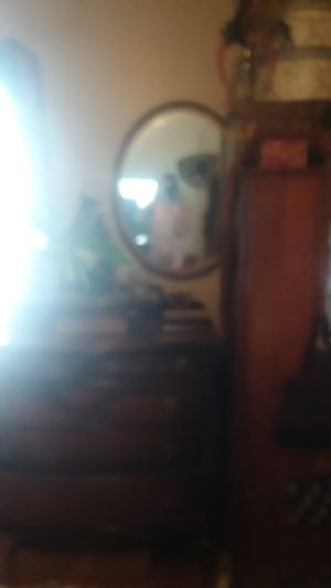 Antique mirror oval for Sale in Pueblo, CO