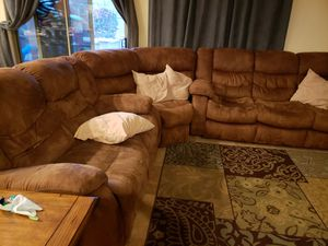 Moving Sale!!!! Sectional- 3 piece for Sale in Phoenix, AZ