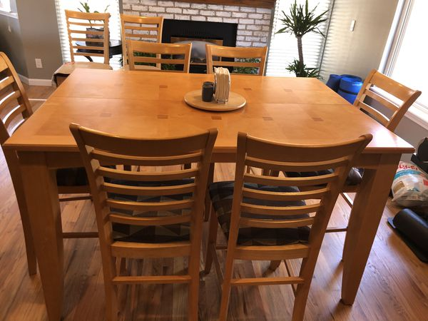 Heavy Duty Dining Table With 8 Chairs For Sale In Colorado Springs Co Offerup