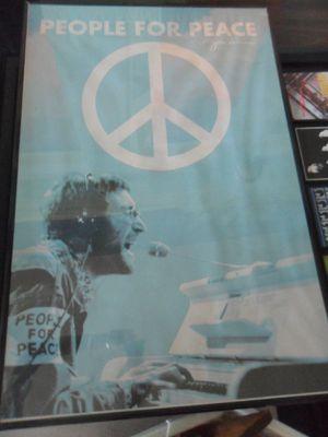 Framed John Lennon Poster for Sale in St. Louis, MO