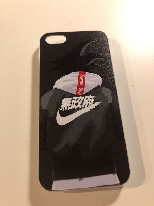 various colors c0d07 51867 Novelty Supreme Nike Goku iPhone 5 Plastic Phone Case for Sale in San  Diego, CA - OfferUp
