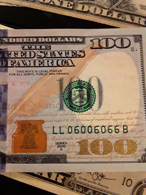 2 digit $100 bill Collectibles rare bills for Sale in Los Angeles, CA -  OfferUp