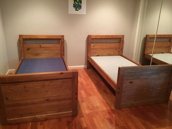 This End Up Twin Bunk Beds With Hardware For Bunking That Includes