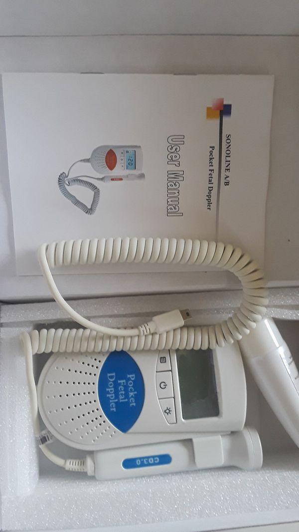 Fetal Doppler -Heartbeat Detector for Sale in Coconut ...