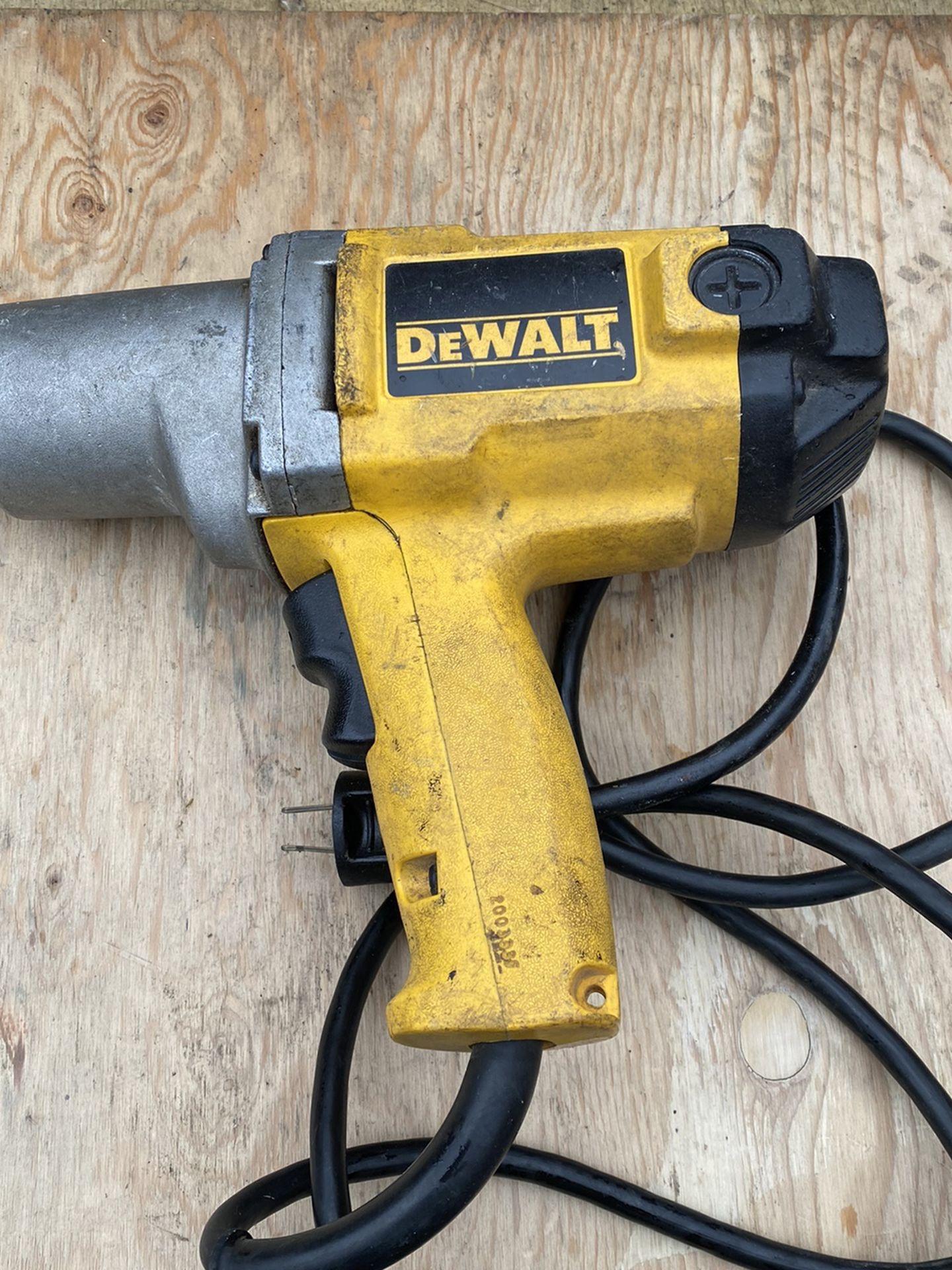 "Dewalt 1/2"" Impact Wrench"