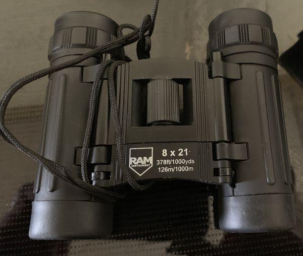 binoculars by ram instruments 8 x 21 for sale in rumford me offerup. Black Bedroom Furniture Sets. Home Design Ideas