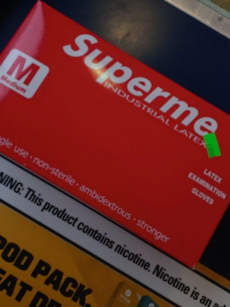 Supreme Latex Gloves (Full Box)