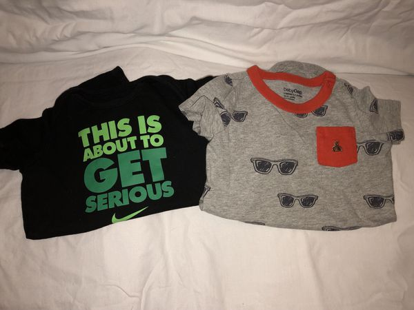 abb27b501 Nike size 9-12 and baby gap size 12-18 onesies for Sale in High ...