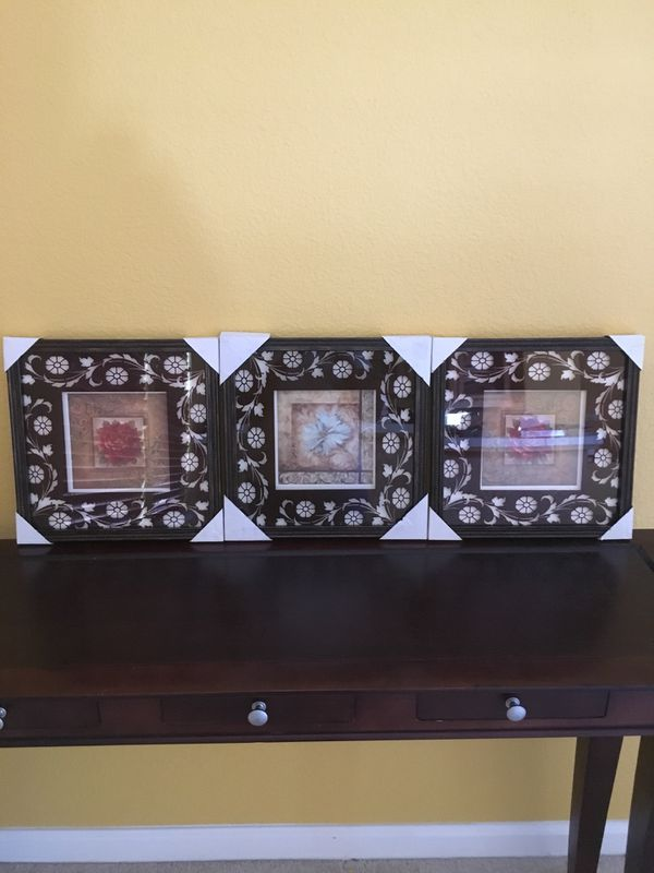Three Wall Art For 5 For Sale In Salida Ca Offerup