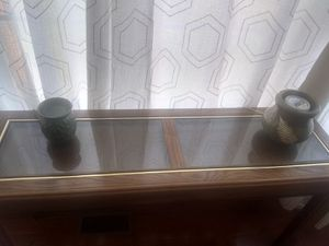 Solid wood console table for Sale in Leesburg, VA