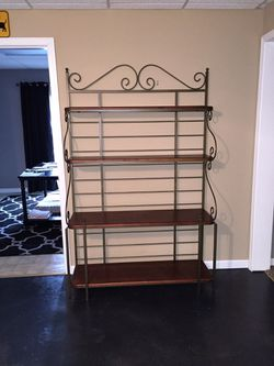 Bakers rack very high quality paid $1200 asking $550 Thumbnail